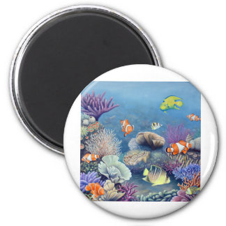 Coral Reef Refrigerator Magnets