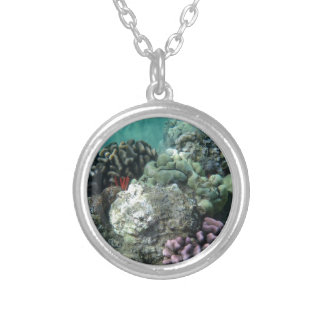 Coral reef custom necklace