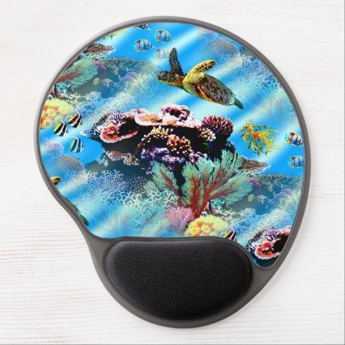Coral Reef Ocean Sea Life Mouse Pad