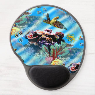 Coral Reef Ocean Sea Life Mouse Pad Gel Mouse Mats