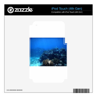 Coral Reef of Bakaro Beach iPod Touch 4G Decals