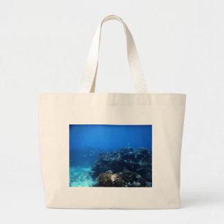 Coral Reef of Bakaro Beach Large Tote Bag