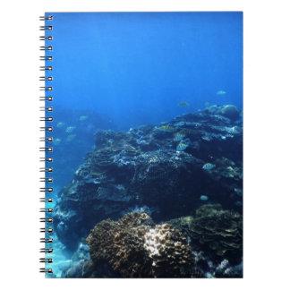 Coral Reef of Bakaro Beach Spiral Notebook