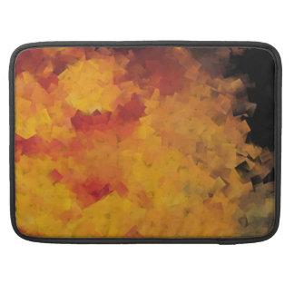 Coral Reef Orange Sleeve For MacBook Pro