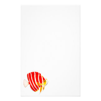 Coral Reef Peppermint Angelfish Stationery