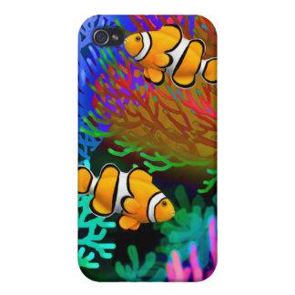 Coral Reef Percula Clown Fish Speck Case