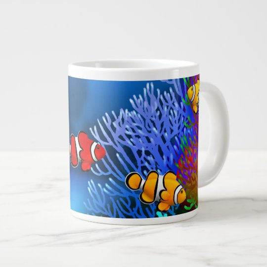 Coral Reef Percula Clownfish Specialty Mug