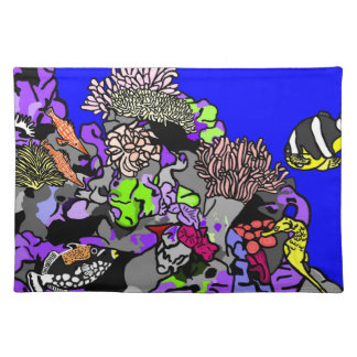 Coral Reef Place Mats