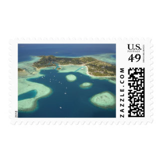 Coral reef, Plantation Island Resort Postage