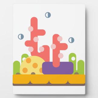 Coral Reef Primitive Style Plaque