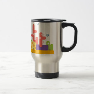 Coral Reef Primitive Style Travel Mug