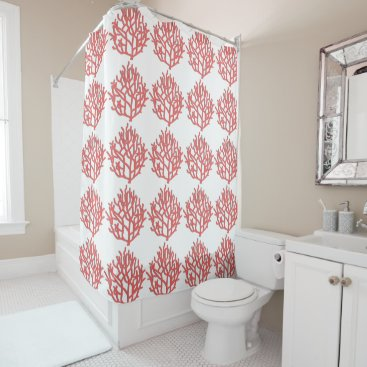 weddingbouquet Coral Reef Shower Curtain