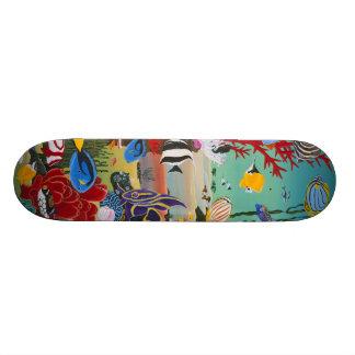 Coral Reef Skateboard Deck
