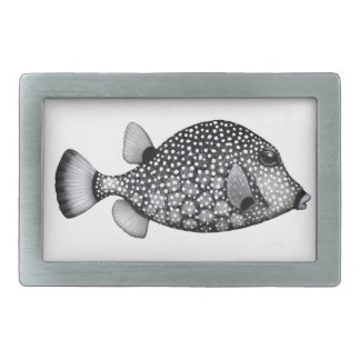 Coral Reef Smooth Trunkfish Belt Buckle