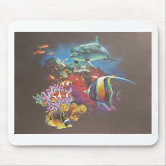 Coral Reef Tropical Fish Mouse Pad