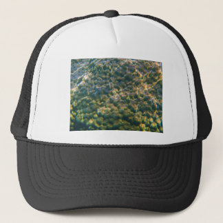 coral reef trucker hat