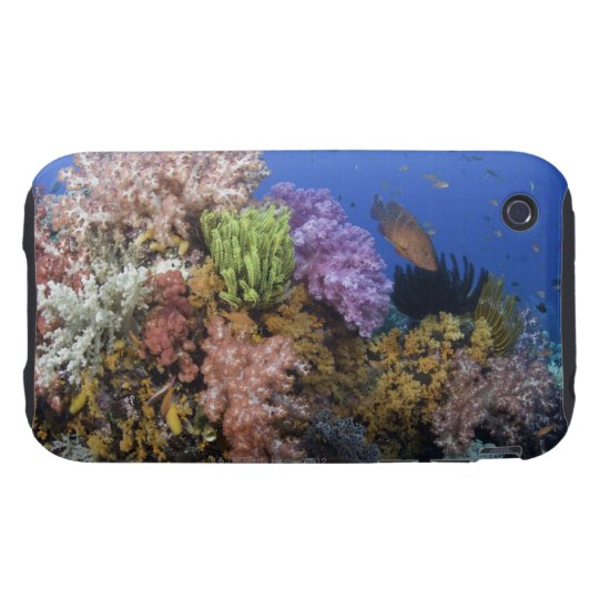 Coral reef, uderwater view iPhone 3 tough cover