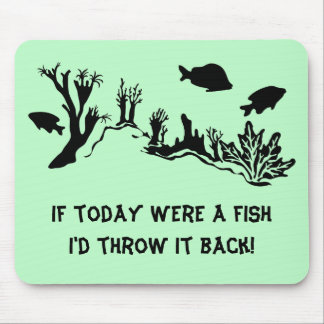 Coral Reef with Fish Swimming Mousepad