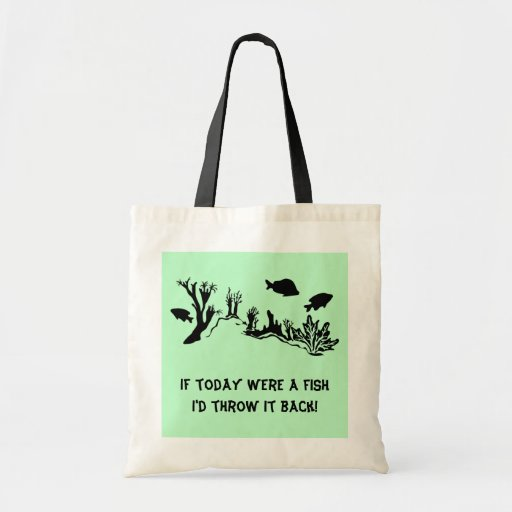 Coral Reef with Fish Swimming Tote Bag
