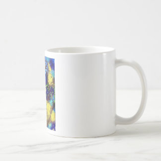 Coral Reef with Yellow Tang Tropical Fish Classic White Coffee Mug