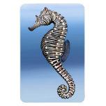 Coral Reef Zebra Sea Horse Premium Flexi Magnet