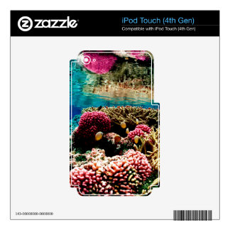 CORAL REEFS 1 SKINS FOR iPod TOUCH 4G