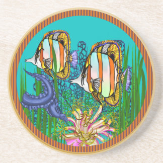 Coral Reefs Beverage Coaster