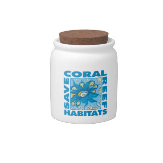 Coral Reefs Candy Jar