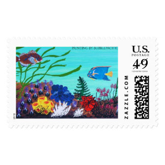 Coral reef's postage
