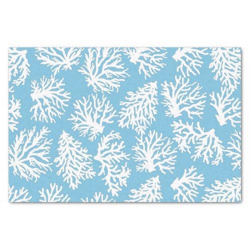Coral Reefs summer coastal beach  Tissue Paper