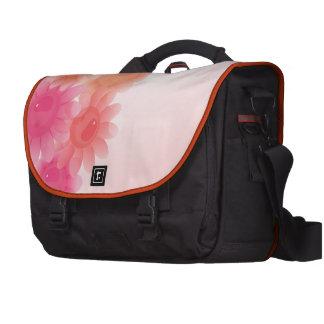 Coral romantic vintage flowers bags for laptop