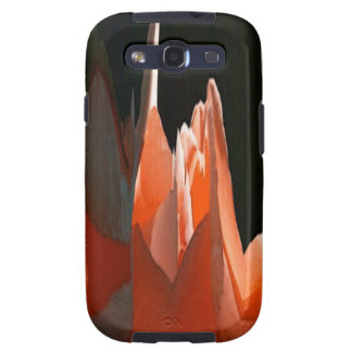 Coral Rose Abstract Galaxy SIII Case