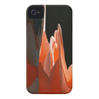 Coral Rose Abstract iPhone 4 Case