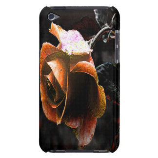 Coral Rose Barely There iPod Cover