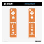 Coral Rose Fashion Solid Color Pattern Decal For Wii Remote