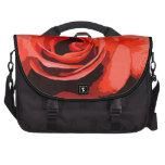 Coral Rose Laptop Bag