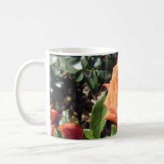 Coral Rose mug