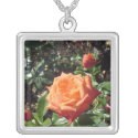 Coral Rose necklace