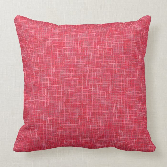 Solid Coral Throw Pillows : Coral Rose Solid Texture Throw Pillow 20