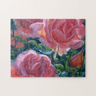 """""""Coral Roses"""" Jigsaw Puzzle"""