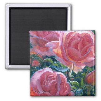 """Coral Roses"" Magnet"
