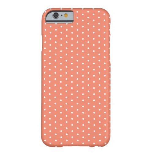Coral Salmon Small Polka Dots Phone Case