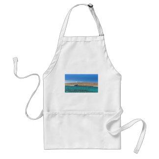 coral sea adult apron