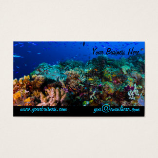 Coral Sea Business Card