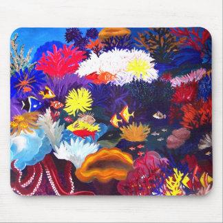 Coral Sea Mouse Pad