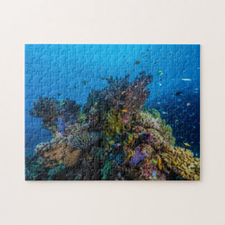 Coral Sea Tropical Fish Jigsaw Puzzle