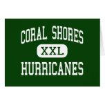 Coral Shores - Hurricanes - High - Tavernier Greeting Cards