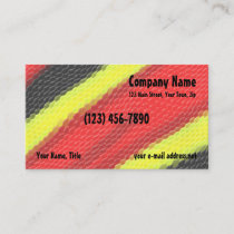Coral Snake Skin Business Card