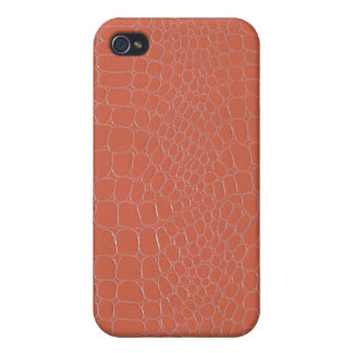Coral Snake with Monogram iPhone 4/4S Cover