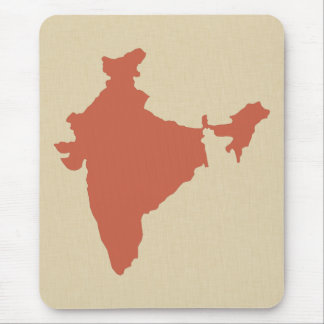 Coral Spice Moods India Mouse Pad